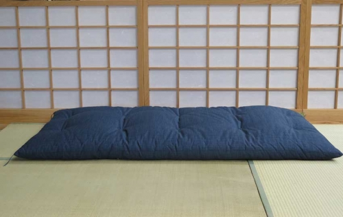 Blue-Single-Futon-Flat