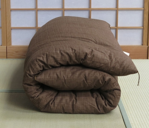 Dark-brown-double-futon