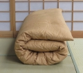 Double-light-brown-futon